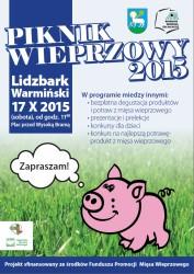 PIKNIK WIEPRZOWY w Lidzbarku Warmińskim!- ZAPRASZAMY