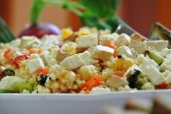 salatka z kaszy jaglanej