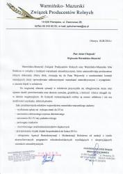 Wystąpienie do wojewody z dnia 18.08.2016 r.
