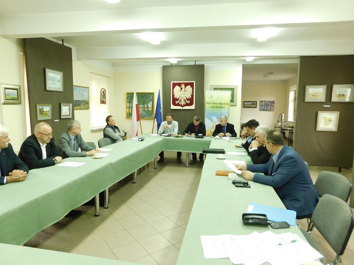 Posiedzenie Rady Powiatowej W-MIR w powiecie kętrzyńskim