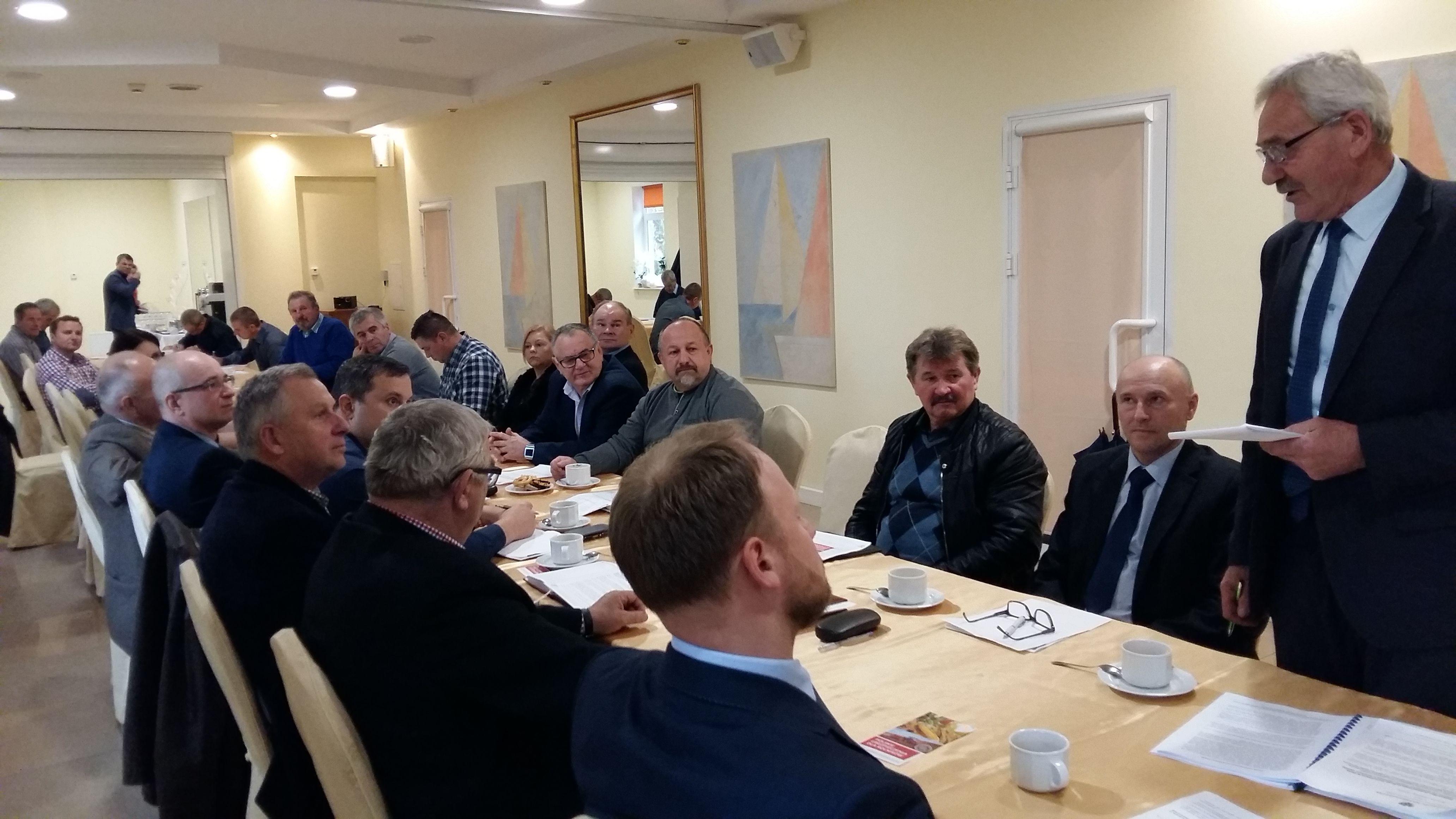 Wspólne posiedzenie Rad Powiatowych W-MIR