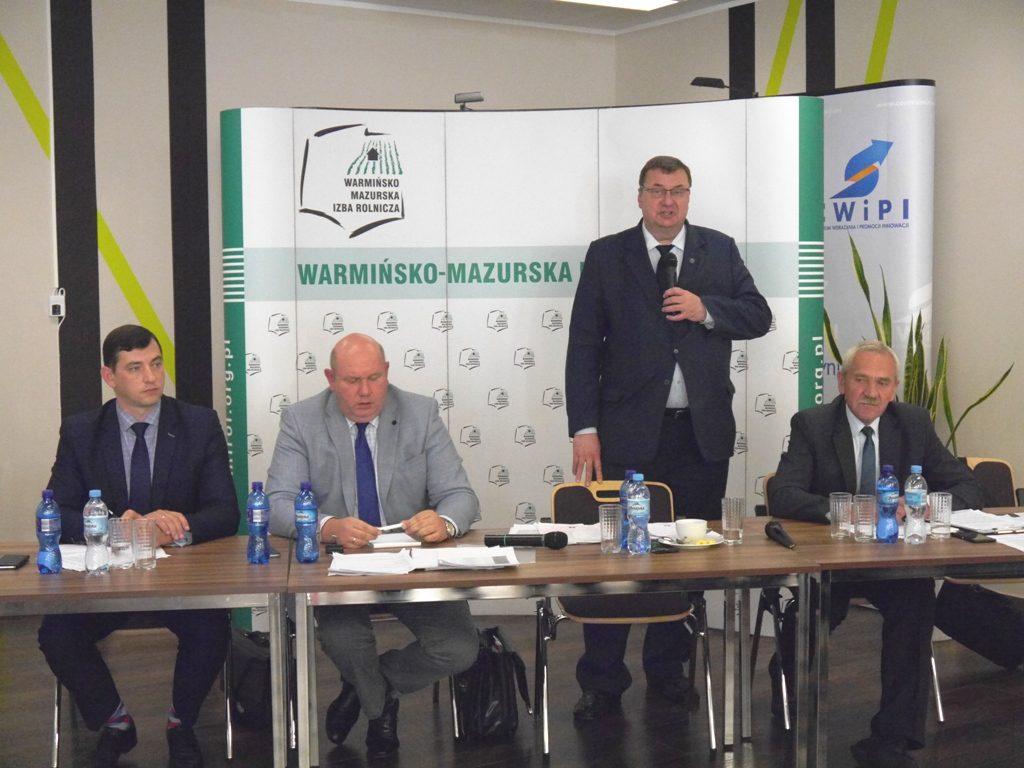 ASF – spotkanie z ministrem Giżyńskim w Olsztynie