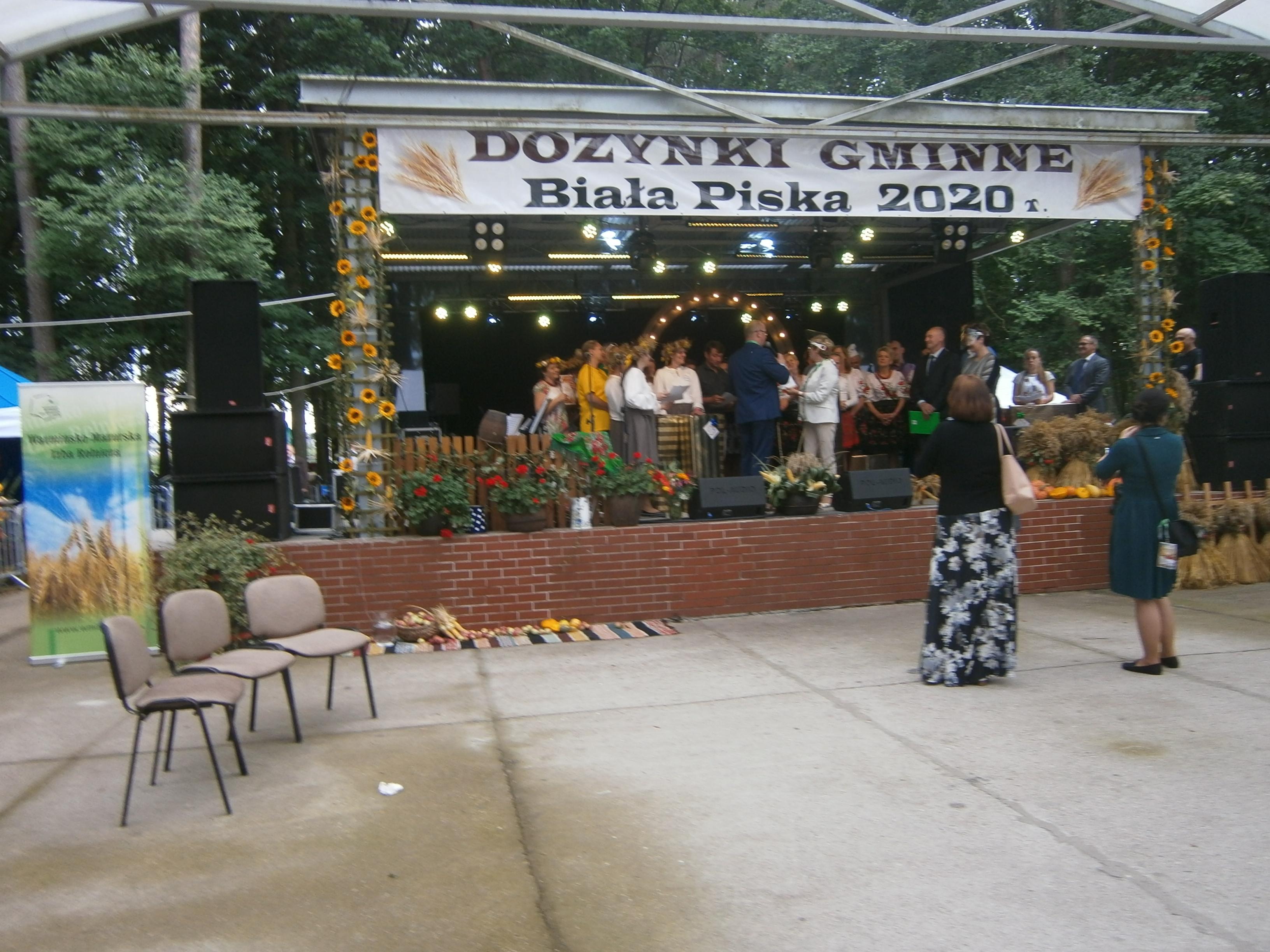 Święto plonów w gminie Biała Piska